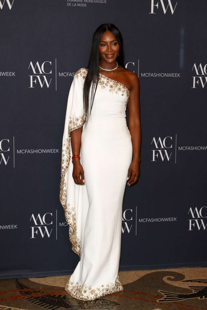 Naomi Campbell In Ralph Russo Monte Carlo Fashion Week Fashionsizzle