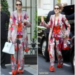 Celine Dion In  Roberto Cavalli – Out In Paris