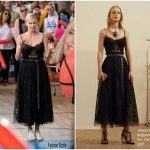Charlize Theron In Alexander McQueen  -Jimmy Kimmel Live