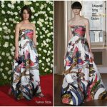 Cobie Smulders In Schiaparelli –  2017 Tony Awards