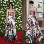 Cobie Smulders In Schiaparelli –  2017 Tony Awards