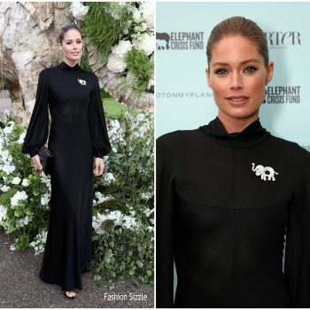 doutzen-kroes-in-azzedine-alaia-save-the-elephants-dinner-700×700