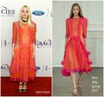 Dove Cameron In Bora Aksu  At  42nd Annual Gracie Awards