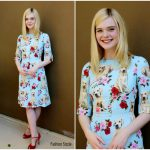 Elle Fanning In Dolce & Gabbana -'The Beguiled'  LA Press Conference