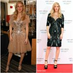 Ellie Goudling In Jenny Packham – End the Silence Charity Fundraiser