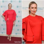 Emily Blunt In Marc Bouwer – 11th Annual American Institute For Stuttering