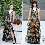 Emma Watson In Louis Vuitton  At  'The Circle' Paris Photocall