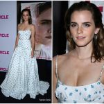 Emma Watson in Miu Miu -'The Circle' Paris Premiere