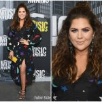 Hillary Scott In Rixo London  At 2017 CMT Music Awards