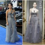 Isabela Moner In Yanina Couture  At 'Transformers: The Last Knight' London Premiere
