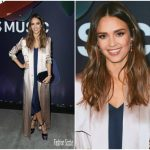 Jessica Alba In Galvan  At Apple Music's Planet of the Apps Party