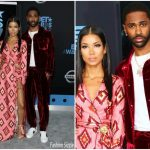 Jhene Aiko In For Restless Sleepers & Big Sean In Bally – 2017 BET Awards