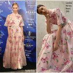 Karlie Kloss In Carolina Herrera  At 2017 Fragrance Foundation Awards