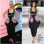 Katy Perry In Stella McCartney At Kiss FM