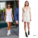 Kendall Jenner In Daisy- Out In New York