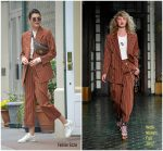 Kendall Jenner In Wolk Morais – Out In New York