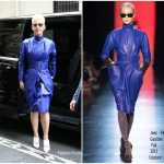 Katy Perry In Jean-Paul Gaultier Couture  – Out In Paris