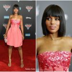 Kerry Washington In Oscar De La Renta  – Cars3 Premiere