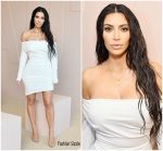 Kim Kardashian In Vivienne Westwood – KKW Beauty Launch