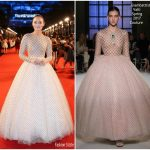Laura Haddock In Giambattista Valli Couture – 'Transformers: The Last Knight' China World Premiere
