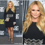 Miranda Lambert In David Koma  At  2017 CMT Music Awards