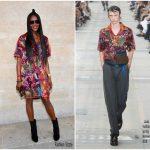 Naomi Campbell in Louis Vuitton – Louis Vuitton Menswear Spring 2018 Show