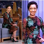 Ruth Negga in Dolce & Gabbana – 'The Tonight Show Starring Jimmy Fallon'