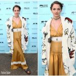 Ruth Wilson In Christian Dior At Save The Elephants Dinner