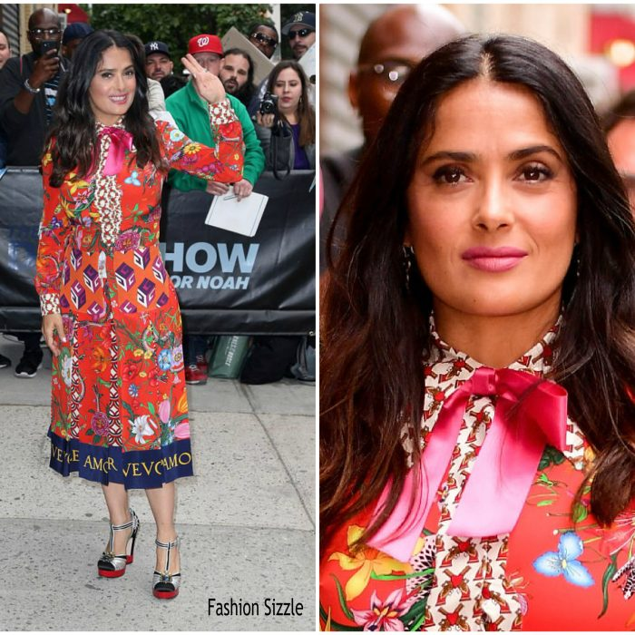 salma-hayek-in-gucci-the-daily-show-with-trevor-noah-700×700