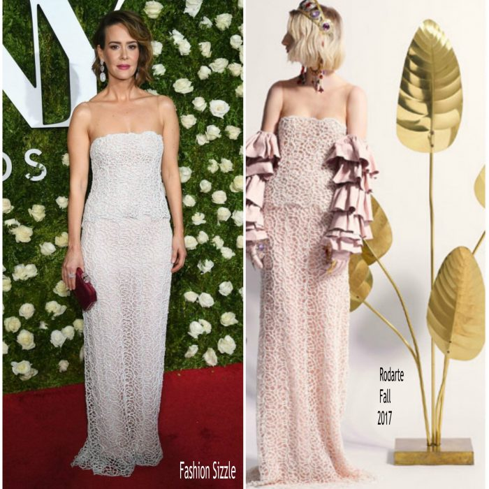 sarah-paulson-in-rodarte-2017-tony-awards-700×700