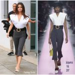 Selena Gomez In Jacquemus  – 'Bad Liar' LA Promotion