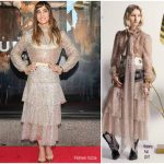 Sofia Boutella In Rodarte – Saks Fifth Avenue 'The Mummy' Window Display