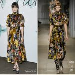 Stacy Martin In Erdem  At  The Serpentine Galleries Summer Party