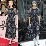 Tilda Swinton In Chanel At  'Okja' Seoul Premiere