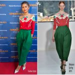 Zendaya Coleman In Delpozo  At  'Spider-Man: Homecoming' Barcelona Photocall