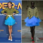 Zendaya Coleman In Molly Goddard At 'Spider-Man: Homecoming' London Photocall