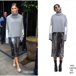 Zendaya Coleman In Sally LaPointe – Out In London