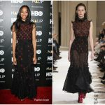 Zoe Saldana in Giambattista Valli – NALIP 2017 Latino Media Awards