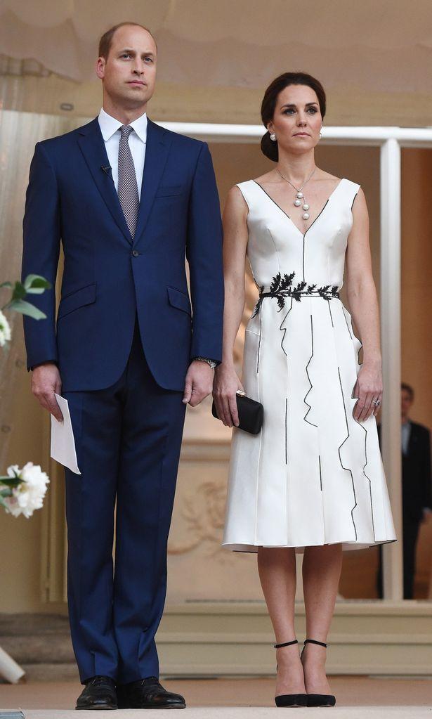 Catherine Duchess Of Cambridge In Gosia Baczyńska