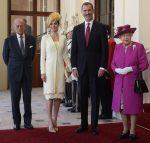 Queen Letizia of Spain – UK State Visit In Felipe Varela