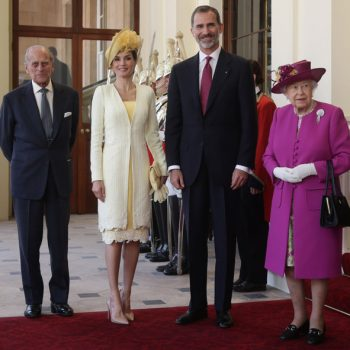 State Visit Of The King And Queen Of Spain – Day 1