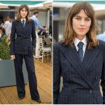 Alexa Chung In Ralph Lauren Collection – Wimbledon Tennis Championships