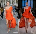 Bella Hadid In Giambattista Valli Couture At Vogue Paris Foundation Dinner