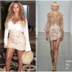 Beyonce Knowles In Ellery & Zimmerman – Instagram Pic