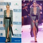 Cara Delevingne In Alexandre Vauthier Couture – 'Valerian and the City of a Thousand Planets' Paris Premiere