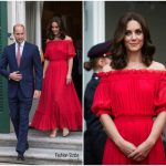 Catherine, Duchess of Cambridge In Alexander McQueen  – Germany Royal Visit Day 2