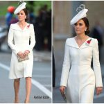 Catherine, Duchess of Cambridge In  Alexander McQueen – The Passchendaele Commemorations