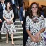 Catherine, Duchess of Cambridge In Erdem – Poland State Visit Day 2