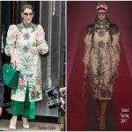 Celine DionIn Gucci Out In Paris