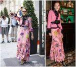 Celine Dion  In  Gucci in Paris